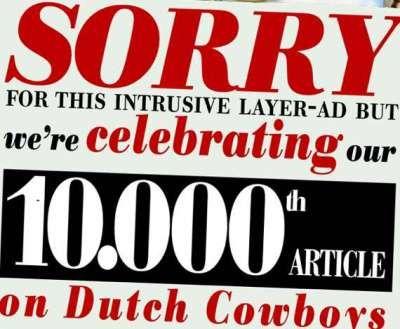 10.000 keer Dutchcowboys