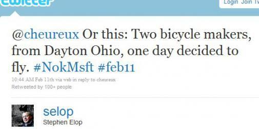 2011feb12 KA DC Stephen Elop tweet1