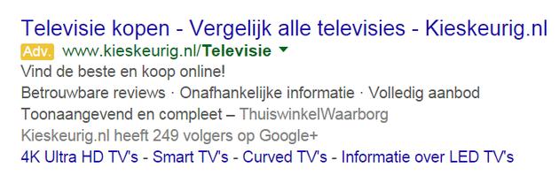 3. tv kopen review extensie