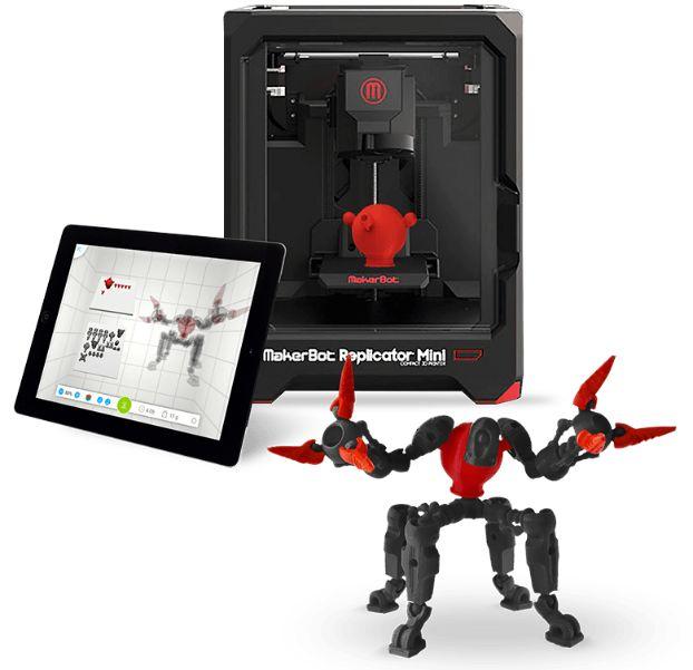 3D game figuren met het MakerBot Developer Programma