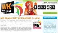 4,7 miljoen werknemers missen mogelijk wedstrijd Oranje