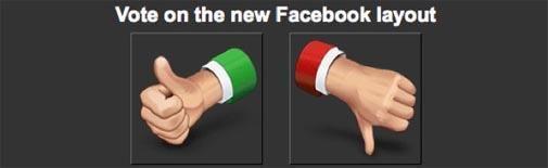 5% geeft 'thumbs up' voor nieuw design