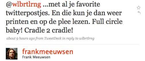 5 Jaar bloggen : Frank Meeuwsen