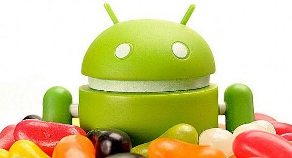 52,1% van de Androidtelefoons draait op Jelly Bean