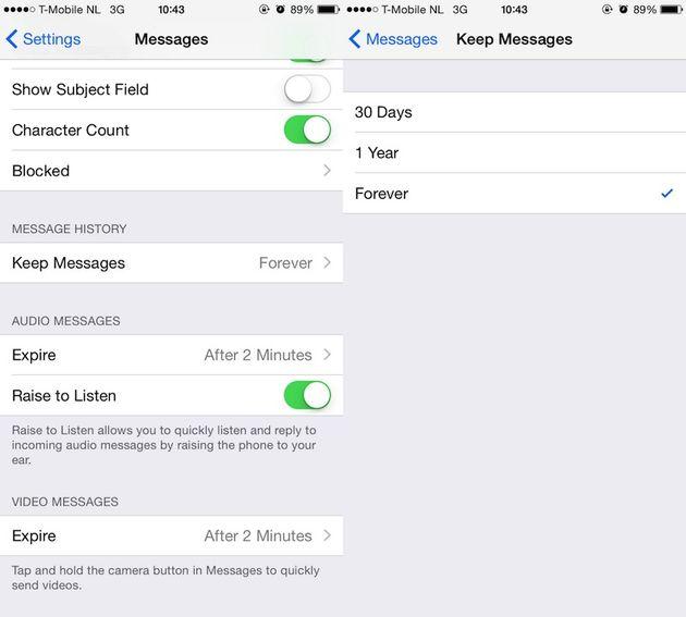 7 manieren om meer ruimte op je iphone te krijgen - 3