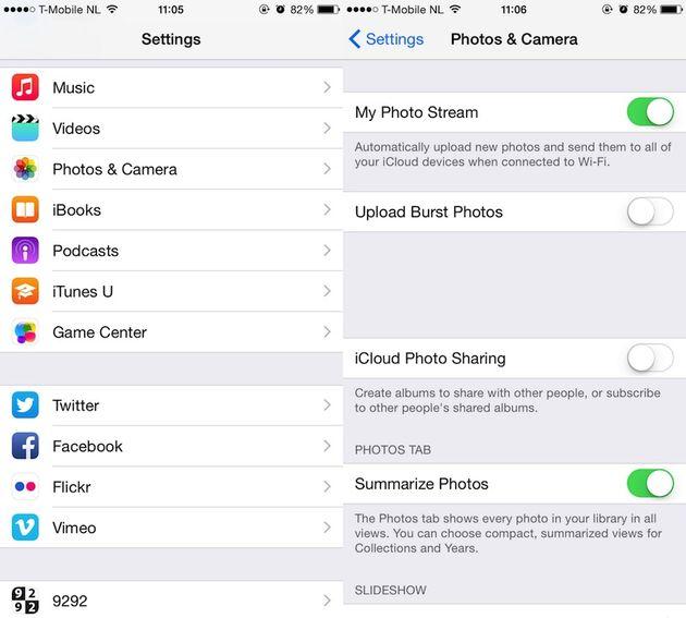 7 manieren om meer ruimte op je iphone te krijgen - 5