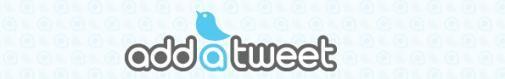 AddATweet houdt conversatie bij blog