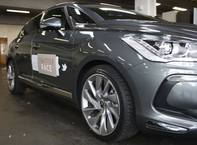 [Adv] Citroën DS5 Twitterrace van start #DS5race