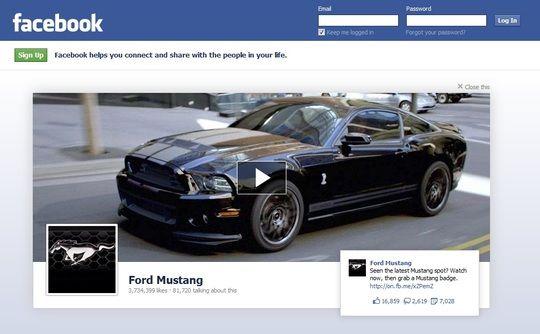 Advertentie op de Facebook log out pagina kost je 'slechts' $710.000 pér dag