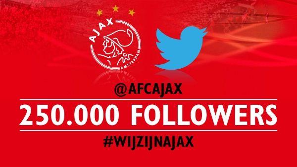 Ajax verloot middenstip via Twitter