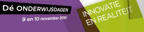 """Alberdingk Thijm op de onderwijsdagen 2010: """"docent, doe mee aan de sociale media!"""""""