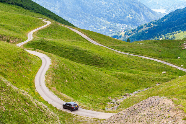 Alleen in de Alpen