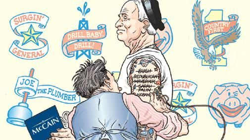 Amerika in cartoons van 2001 tot vandaag