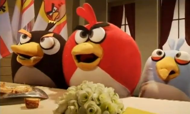 Angry Birds Live Action (+bonus)