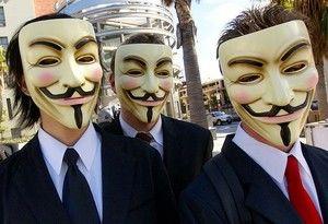 Anonymous voert grote cyberaanval uit na sluiten Megaupload