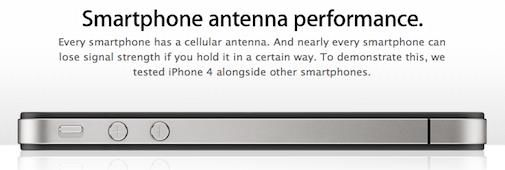 Antennagate (2) : iPhone 4 vs Blackberry Bold 9700 vs HTC Droid Eris