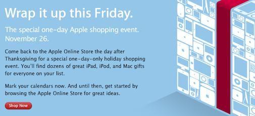 Apple is klaar voor Black Friday, Apple Nederland ook ?