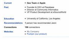 Apple koopt PlaceBase