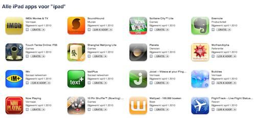 Apple opent iPad Store [iTunes]