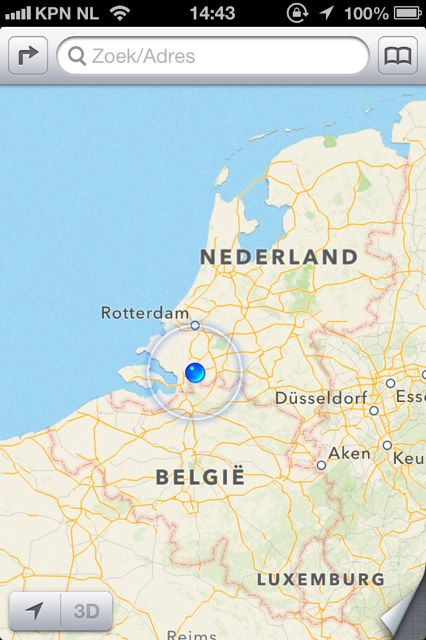 Apple: 'We zijn pas net gestart met Maps'
