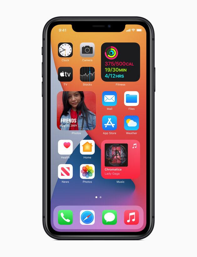 Apple widgets
