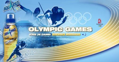 Aquarius organiseert eigen Olympic Games