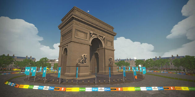 arc-de-triomphe-Zwift