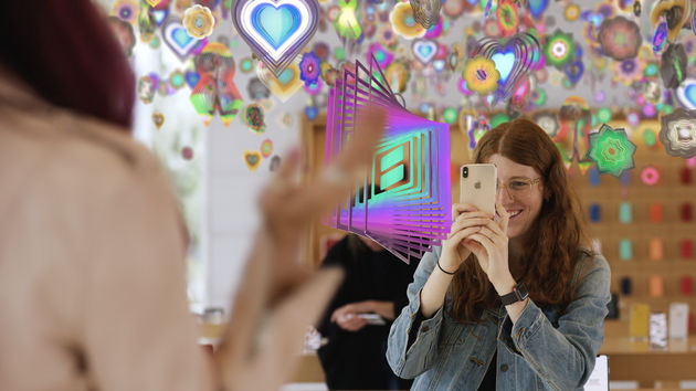 Today at Apple: Nieuwe Augmented Reality-kunstsessies
