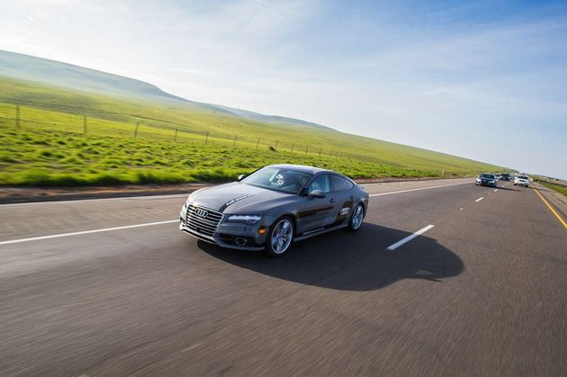 Audi-A7-piloted-driving-road