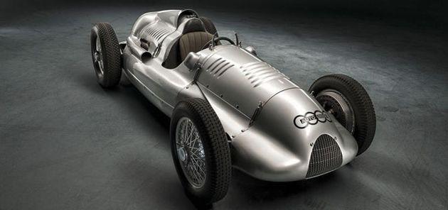 Audi koopt laatste Silberpfeil Type D