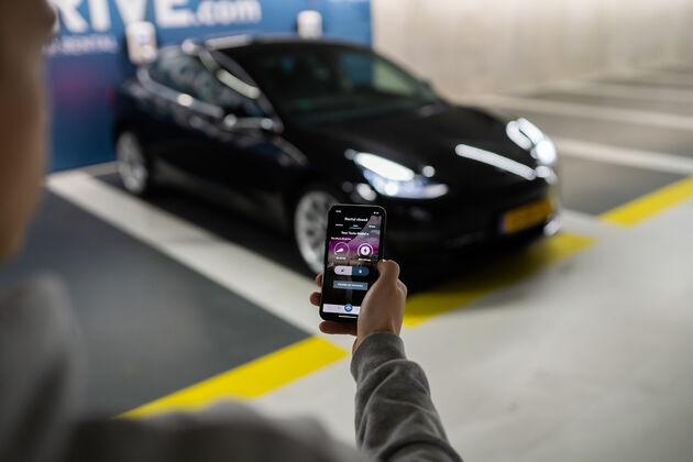 Auto huren app digitaal