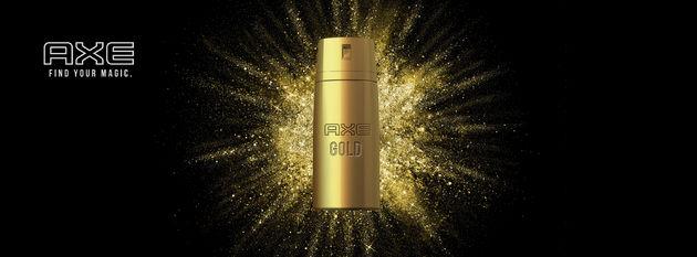 AXE Gold 14 karaats gouden bodyspray