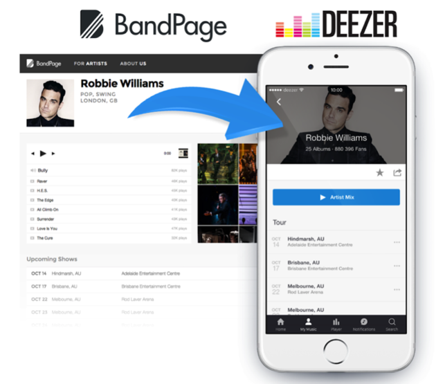 BandPage-deezer