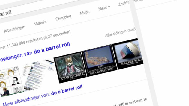 barrel roll artikel