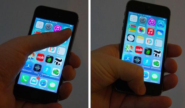 bediening iphone 5c