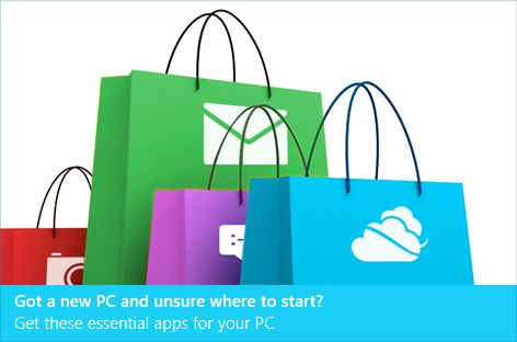 Bedrijfsapplicaties op Windows 8