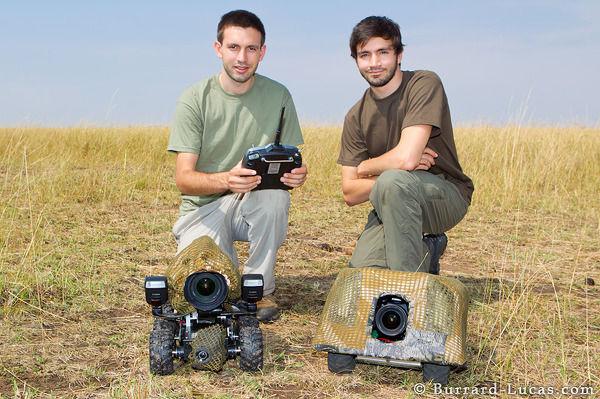 Beetlecam zorgt voor unieke wildlife foto's