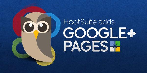 Beheer Google+ Pagina met HootSuite