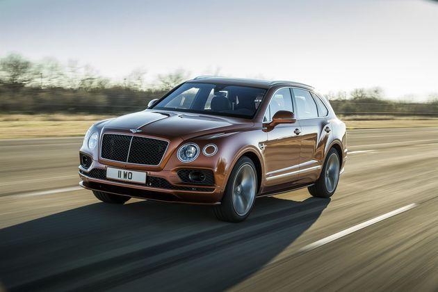 Bentley Bentayga Speed is 's werelds snelste SUV