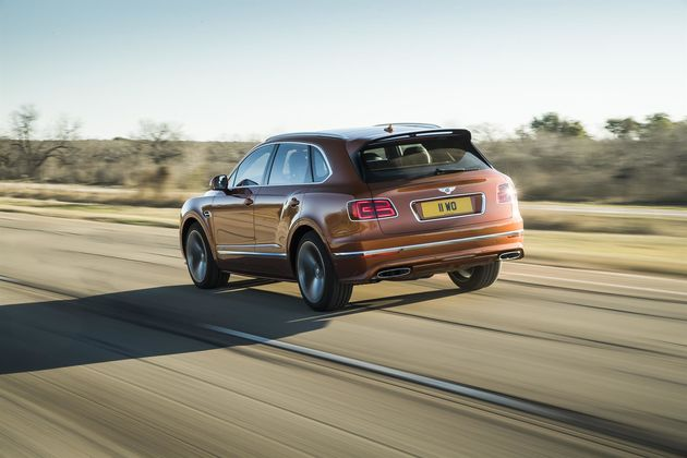 Bentayga Speed 6