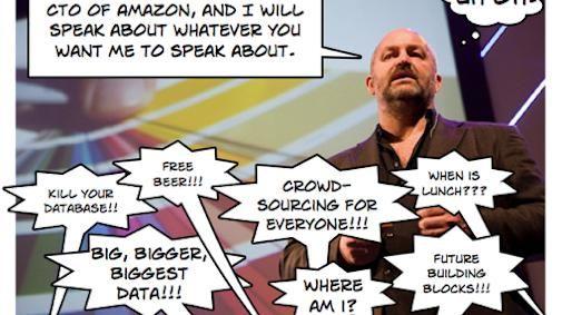 Beslis mee waarover Werner Vogels spreekt tijdens #TNW2010
