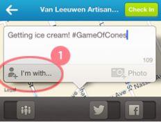 Bespaar tijd en check zelf je vrienden in via Foursquare