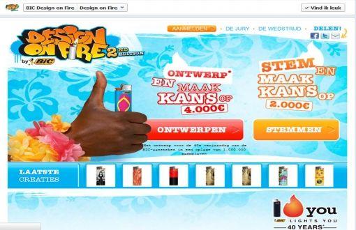 BIC DOF HP Facebook app_NL