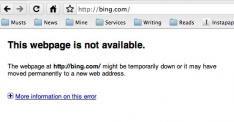 Bing even offline
