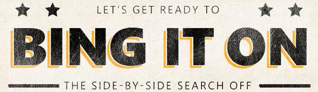 Bing It On; Bing daagt Google uit