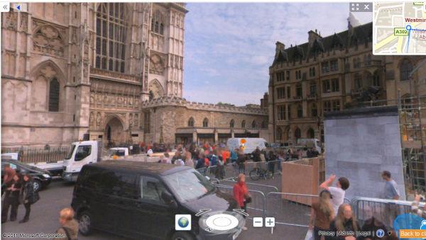 Bing Streetside langzaam zichtbaar in Engeland