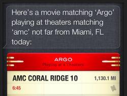 Bioscoopkaartjes kopen met Siri in Apple's iOS 6.11