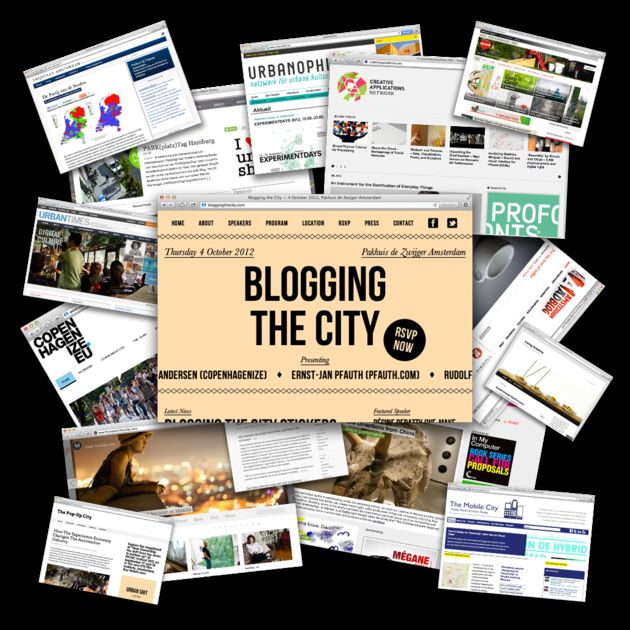 Blogging the City