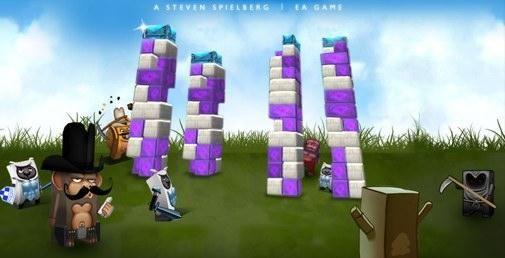 Boom Blox eerste Wii-spel van Steven Spielberg