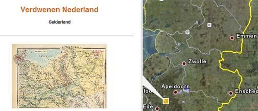 Bosatlas toegevoegd aan Google Earth